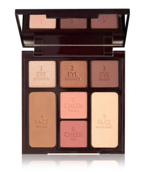 Stoned Rose Beauty Instant Look In A Palette - 5 Minute Makeup Charlotte Tilbury