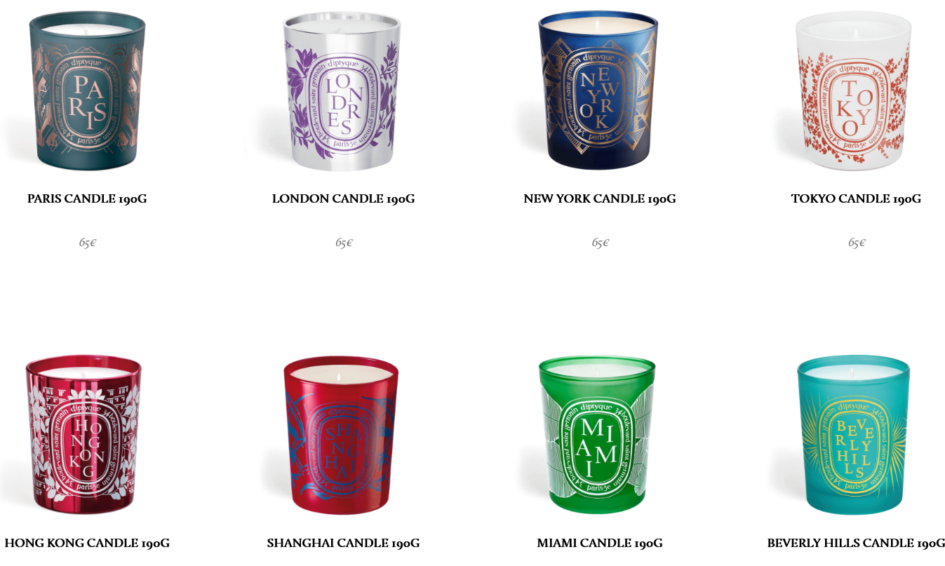 Diptyque City Candles 20 Are Online for One Week Only and Beauty ...