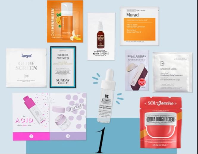 2021-05-12 Beauty Sample Bag Sephora icangwp