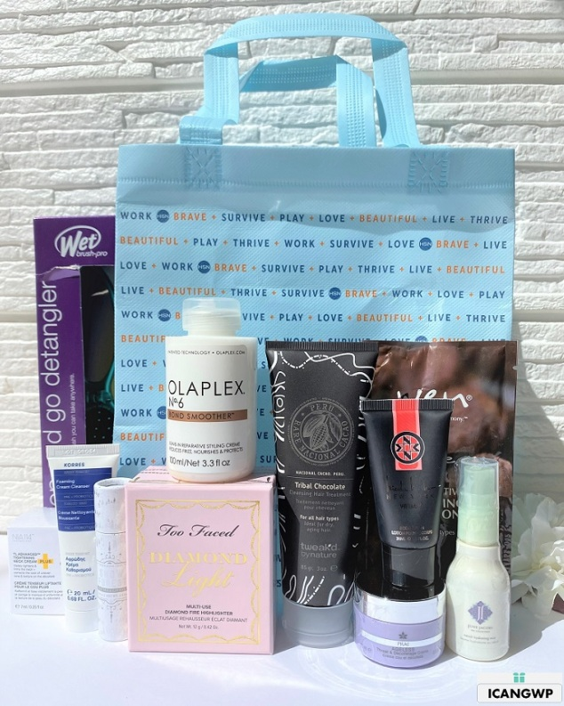 hsn beauty with benefits free gift bag 2021 by icangwp