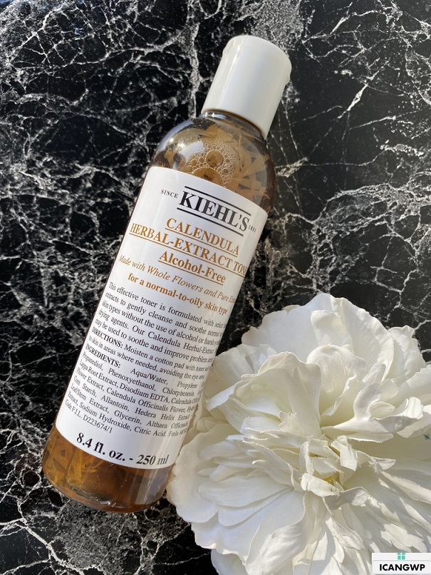 kiehls calendula herbal extract toner alcohol free review by icangwp blog