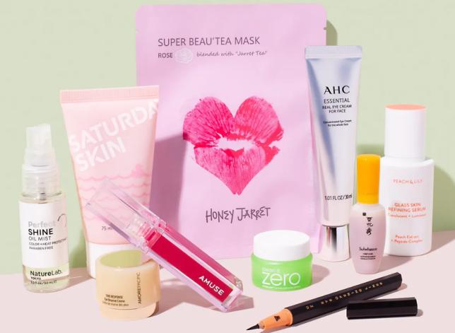 Limited-Edition J-Beauty + K-Beauty Allure Beauty Box icangwp