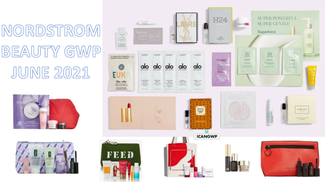 NORDSTROM BEAUTY GIFT WITH PURCHASE JUNE 2021 ICANGWP