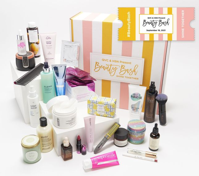 qvc and hsn beauty bash $59 worth $500 icangwp