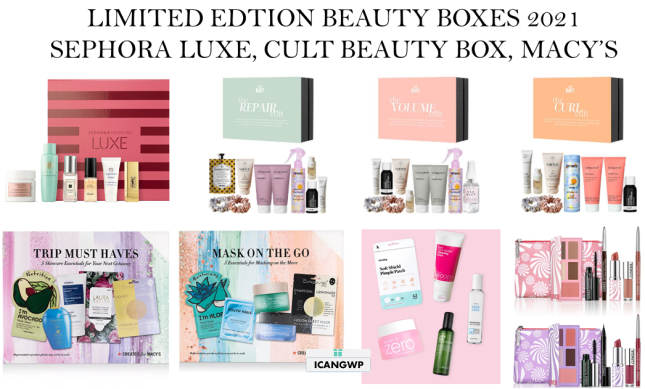 limited edition beauty box AUGUST 2021 icangwp blog