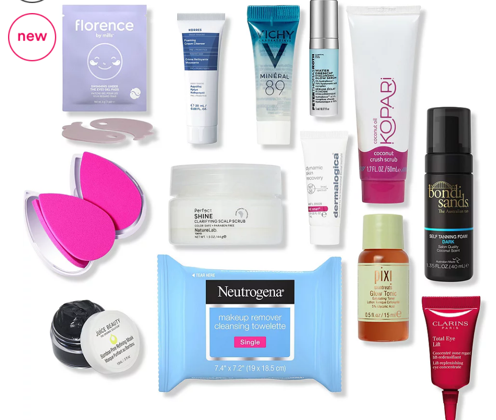 Platinum Diamond Exclusive Free 13 Piece Sampler #1 with $50 purchase Ulta Beauty icangwp