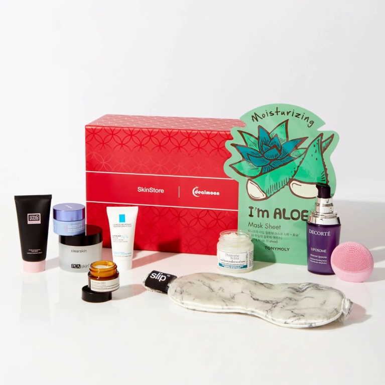 skinstore x dealmoon beauty box icangwp
