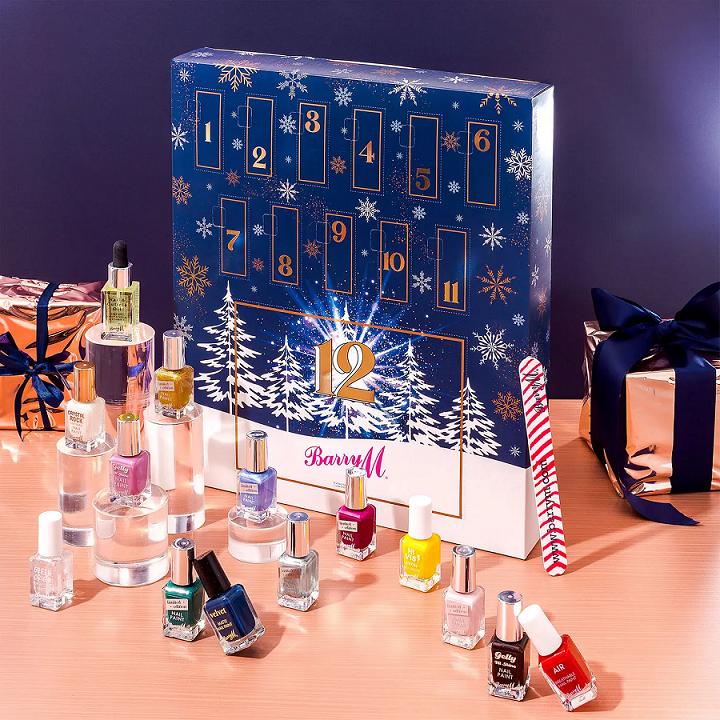 barry m cosmetics beauty advent calendar icangwp