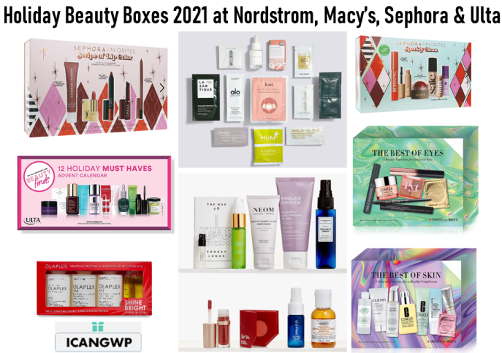 holiday beauty box 2021 at nordstrom icangwp