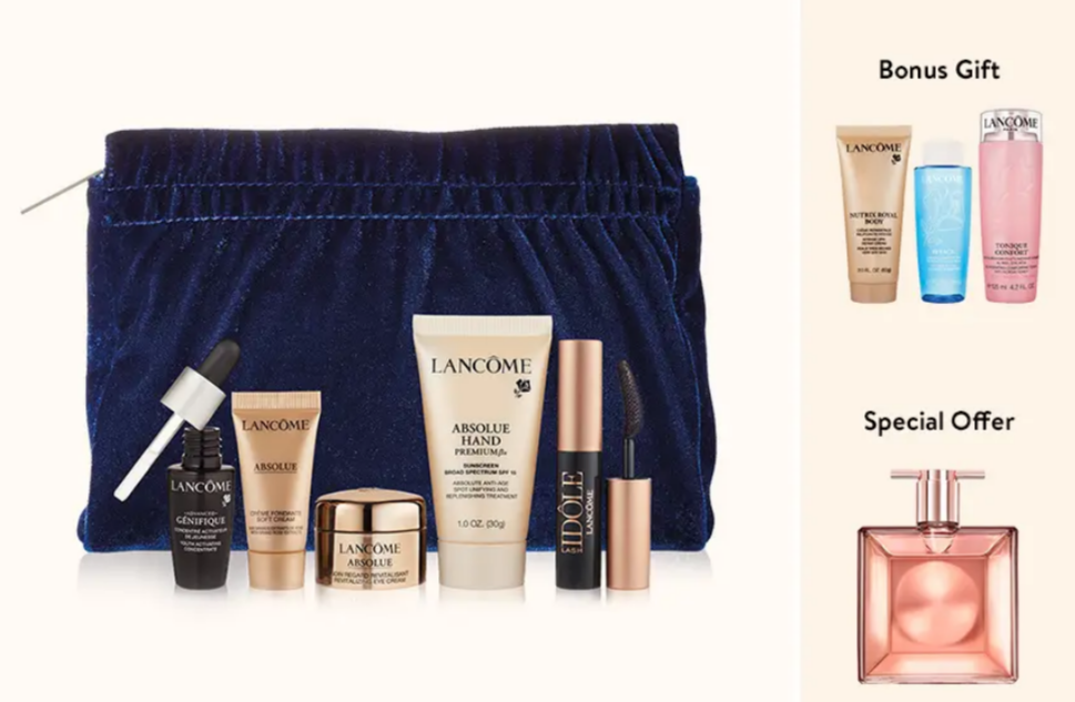 lancome Gift with Purchase Nordstrom september 2021 icangwp beauty blog
