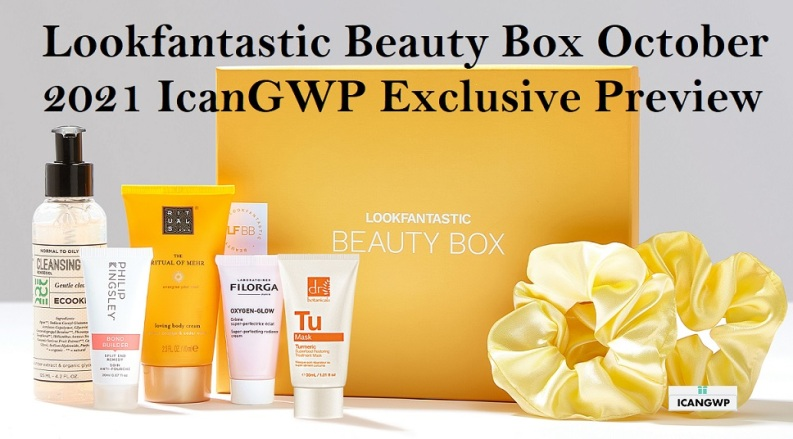 lookfantastic october 2021 beauty box full spoilers icangwp