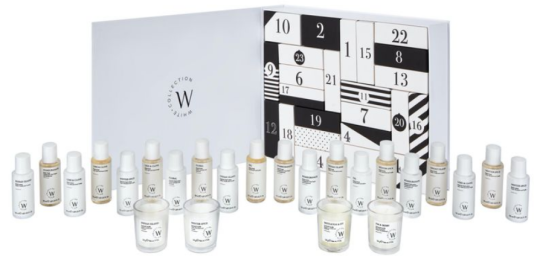 the white collection advent calendar 2021 icangwp