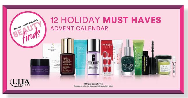 Ulta advent calendar 2021 Beauty Finds by ULTA Beauty 12 Holiday Must Haves Advent Calendar Ulta Beauty icangwp