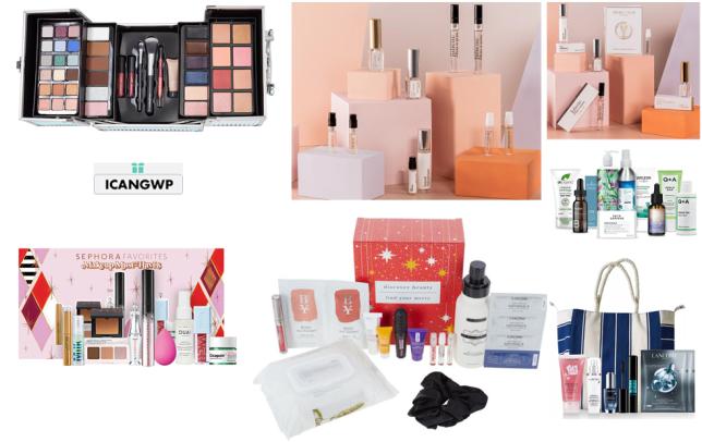hsn christmas beauty box and lancome holiday beauty 2021