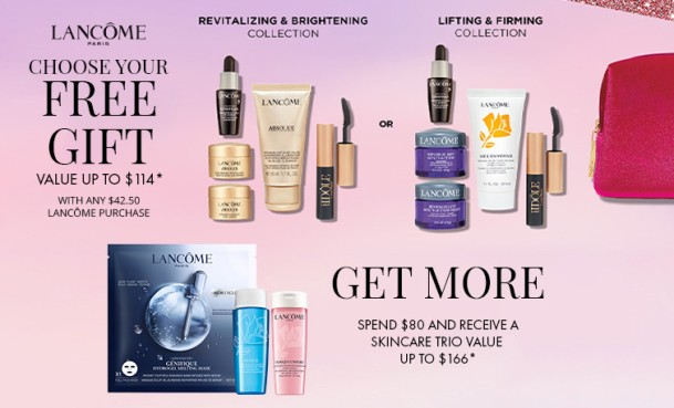 lancome gift with purchase 2021 dillards icangwp blog