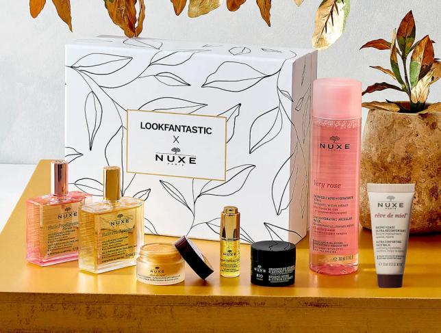 lookfantastic x nuxe beauty box icangwp 2