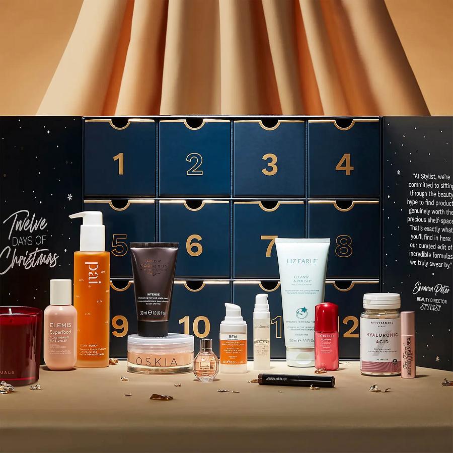 lookfantastic x stylist beauty advent calendar 2021 icangwp blog